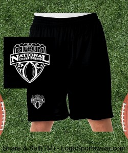 National Championships Mesh Shorts Design Zoom